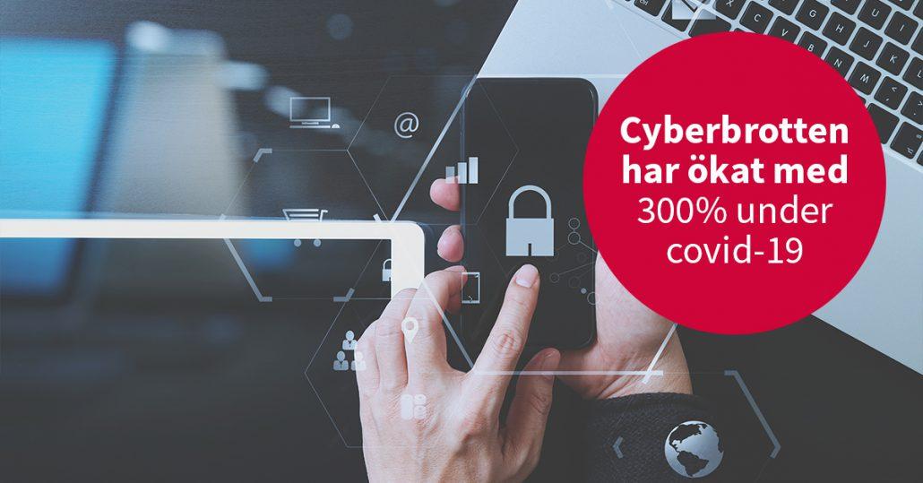 Cyberbrotten ökar under pandemin – Har du säkrat din organisation?