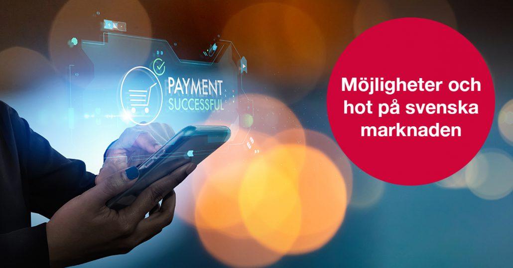 Snabb utveckling och många initiativ – hur kan ett nytt svenskt betalningslandskap komma att se ut?